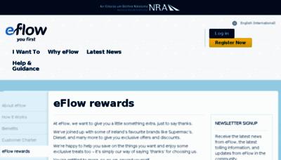 What Eflowrewards.ie website looked like in 2015 (6 years ago)