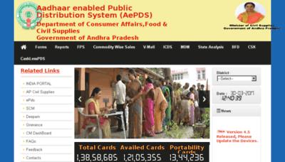 What Epos.ap.gov.in website looked like in 2017 (4 years ago)