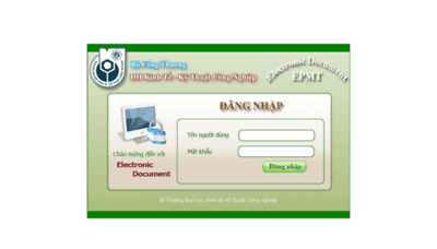 What Egov.uneti.edu.vn website looked like in 2017 (4 years ago)