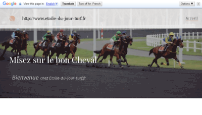 What Etoile-du-jour-turf.fr website looked like in 2018 (3 years ago)