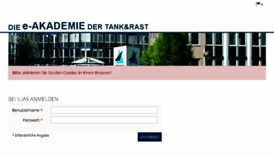 What E-akademie.tankundrast.de website looked like in 2018 (3 years ago)