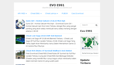 What E991.net website looked like in 2018 (3 years ago)