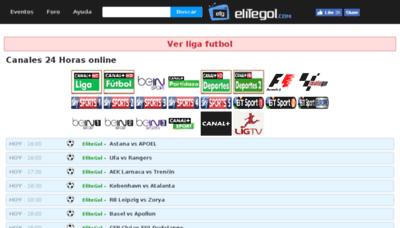 What Elitegol.me website looked like in 2018 (2 years ago)