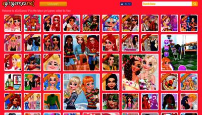 What Egirlgames.net website looked like in 2019 (2 years ago)