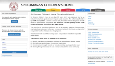 What Edchemy.kumarans.org website looked like in 2019 (2 years ago)
