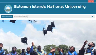What Elearn.sinu.edu.sb website looked like in 2019 (1 year ago)