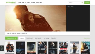 What Ezmovies.net website looked like in 2019 (1 year ago)