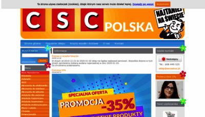 What Eoceanus.pl website looked like in 2019 (1 year ago)