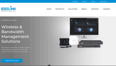 What Ezelink.net website looked like in 2019 (1 year ago)