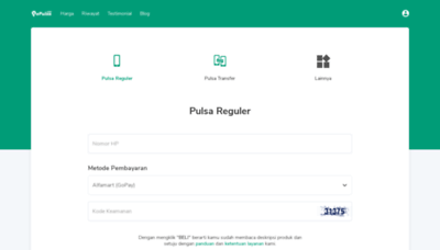 What Epulsa.net website looked like in 2020 (1 year ago)