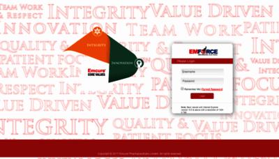 What Emforce.emcure.co.in website looked like in 2020 (1 year ago)