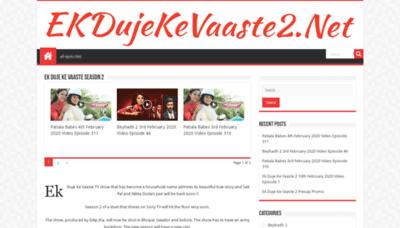 What Ekdujekevaaste2.net website looked like in 2020 (1 year ago)