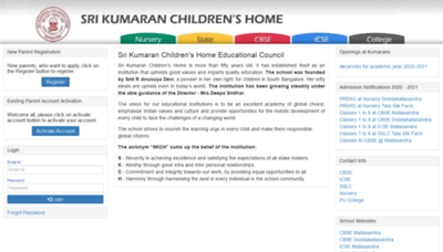 What Edchemy.kumarans.org website looked like in 2020 (1 year ago)
