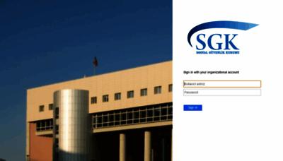 What Eposta.sgk.gov.tr website looked like in 2020 (1 year ago)