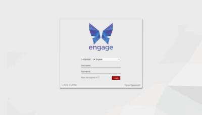 What Engage.vas.edu.vn website looked like in 2020 (1 year ago)