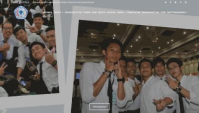 What Ekuitas.ac.id website looked like in 2020 (1 year ago)