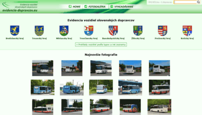 What Evidencia-dopravcov.eu website looked like in 2020 (This year)