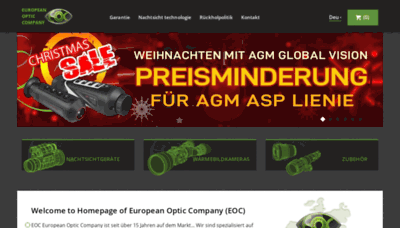What Eoccompany.eu website looked like in 2020 (This year)