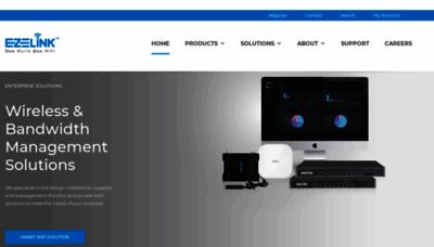 What Ezelink.net website looks like in 2021