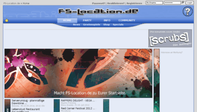 What Fs-location.de website looked like in 2017 (3 years ago)
