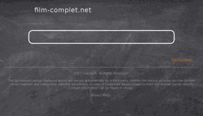 What Film-complet.net website looked like in 2018 (3 years ago)