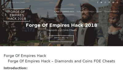 What Foecheats.club website looked like in 2018 (3 years ago)