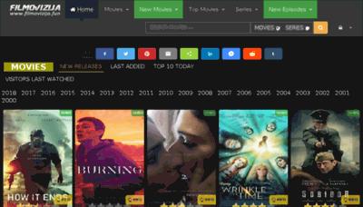 What Filmovizija.fun website looked like in 2018 (3 years ago)