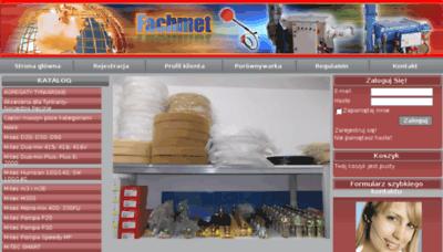 What Fachmet-sklep.pl website looked like in 2018 (3 years ago)