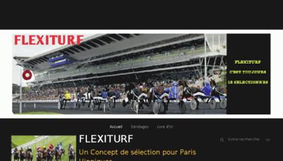 What Flexiturf.fr website looked like in 2018 (3 years ago)