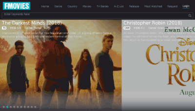 What Fmovies.is website looked like in 2018 (3 years ago)