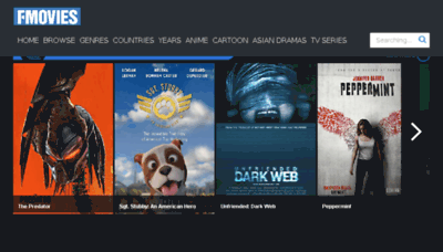 What Fmovies.tl website looked like in 2018 (2 years ago)