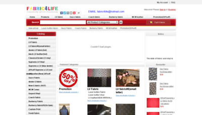 What Fabric4life.ru website looked like in 2018 (2 years ago)