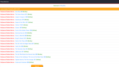 What Filmyzilla.asia website looked like in 2018 (2 years ago)