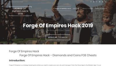 What Foecheats.club website looked like in 2018 (2 years ago)
