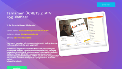 What Freeiptvserver.net website looked like in 2018 (2 years ago)