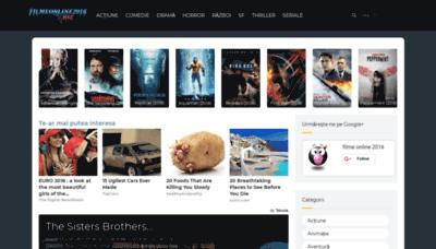 What Filmeonline2016.biz website looked like in 2019 (2 years ago)