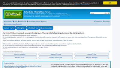 What Forum-alkoholiker.de website looked like in 2019 (2 years ago)