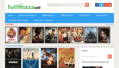 What Fullmaza.mobi website looked like in 2019 (2 years ago)