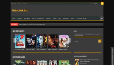 What Filmlinks4u.net website looked like in 2019 (2 years ago)