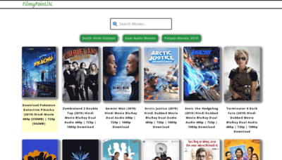 What Filmypoint.in website looked like in 2019 (2 years ago)