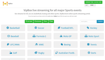 What Fr.vipbox.sx website looked like in 2019 (1 year ago)