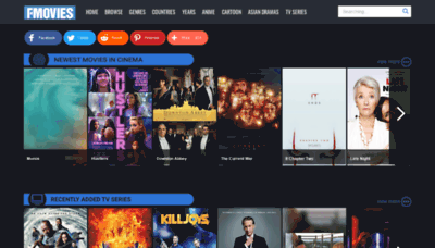 What Fmovies.tl website looked like in 2019 (1 year ago)