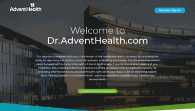 What Floridahospitalmd.org website looked like in 2019 (2 years ago)