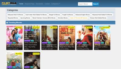 What Filmyzila.icu website looked like in 2019 (1 year ago)