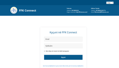 What Ffk-connect.ma.services website looked like in 2020 (1 year ago)