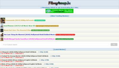 What Filmy4wap.art website looked like in 2020 (1 year ago)