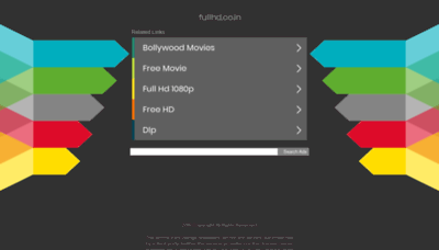 What Fullhd.co.in website looked like in 2020 (1 year ago)
