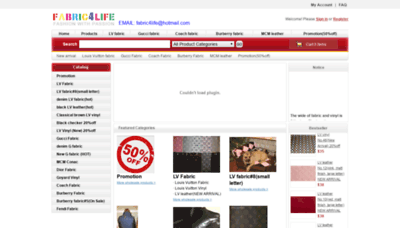 What Fabric4life.ru website looked like in 2020 (1 year ago)