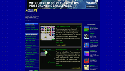 What Freegames.ws website looked like in 2020 (1 year ago)