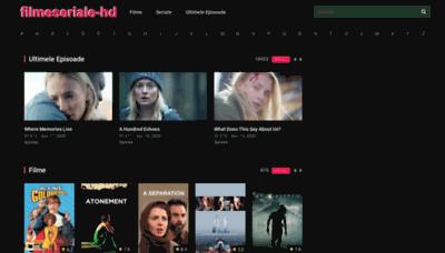 What Filmeseriale-hd.org website looked like in 2020 (1 year ago)